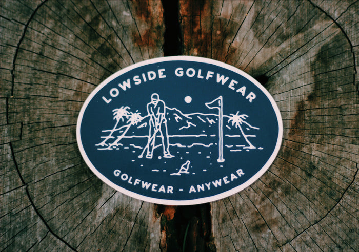 Golfwear Anywear Sticker