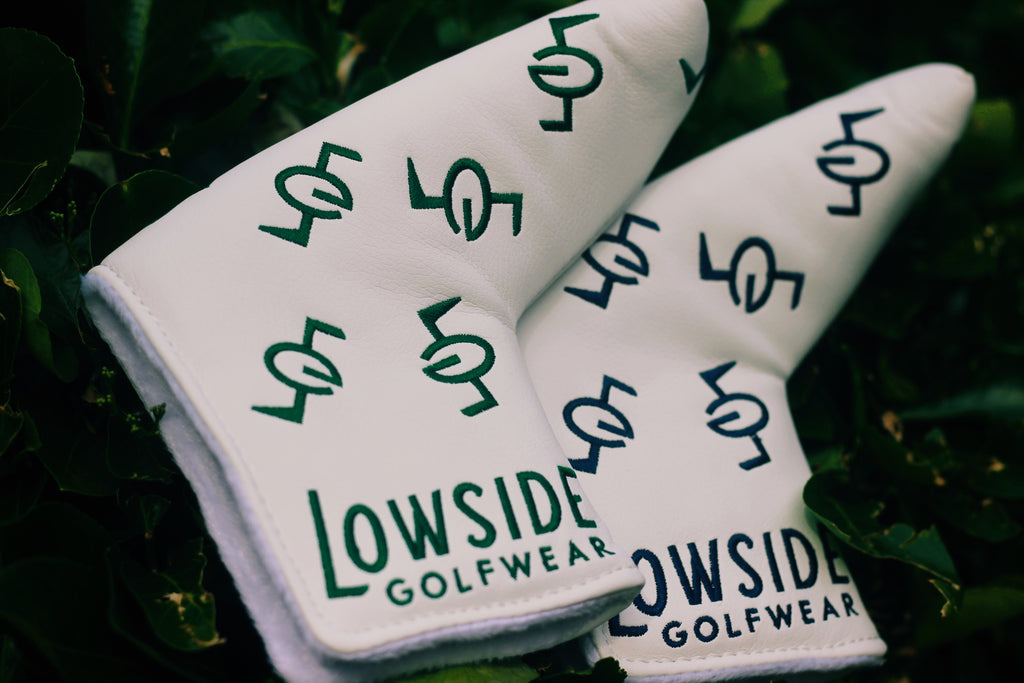 Lowside Dancing Monogram Putter Cover