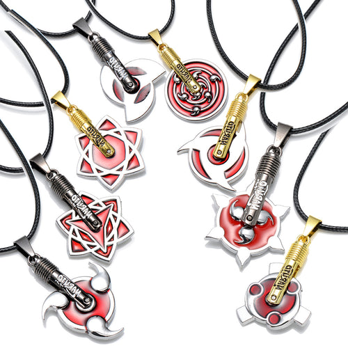 8 Sharingan Necklaces - Gaming Raid