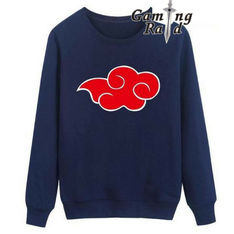 Navy Blue Akatsuki Cloud Crewneck