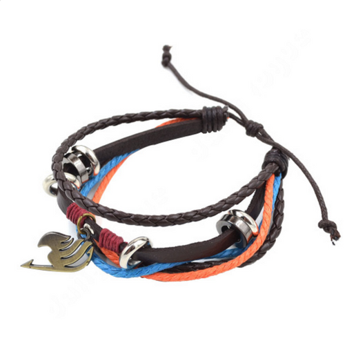 Fairy Tail Leather Bracelet - Gaming Raid