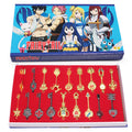 18Pc. Fairy Tail Lucy Key Set - Gaming Raid
