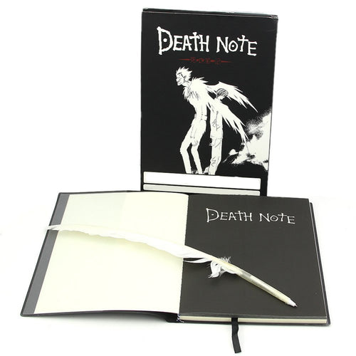 Death Note Notebook w/ Quill Pen - Gaming Raid