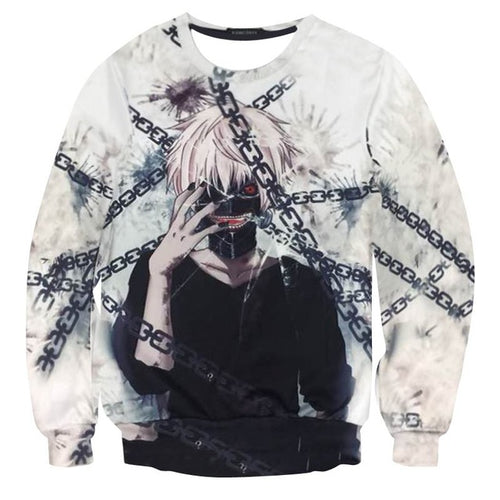 Chained Ken Crewneck