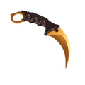 CS:GO Karambit Knife Gold - Gaming Raid