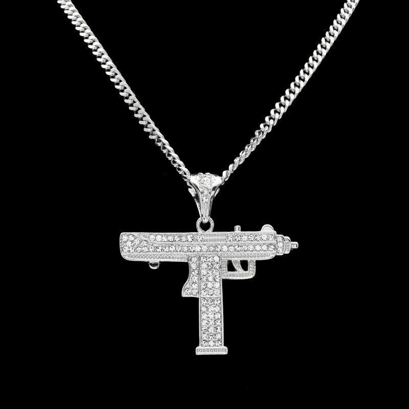 Bling Uzi Necklace - Gaming Raid