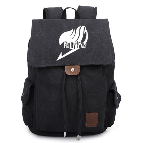Fairy Tail Canvas Backpack - Gaming Raid