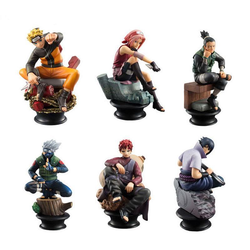 6Pc. Naruto Action Figures Set - Gaming Raid