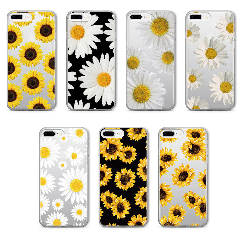 best website 29c9f 89ba2 Daisy Sunflower Soft Clear iPhone cover case