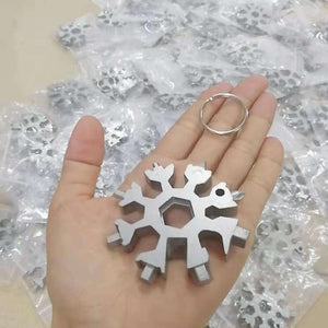 18-in-1 Stainless Steel Snowflake Multi Tool