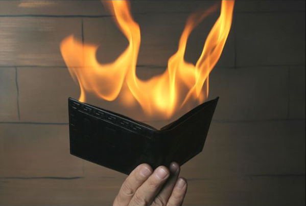 Hot Wallet™ Flame Trick Wallet