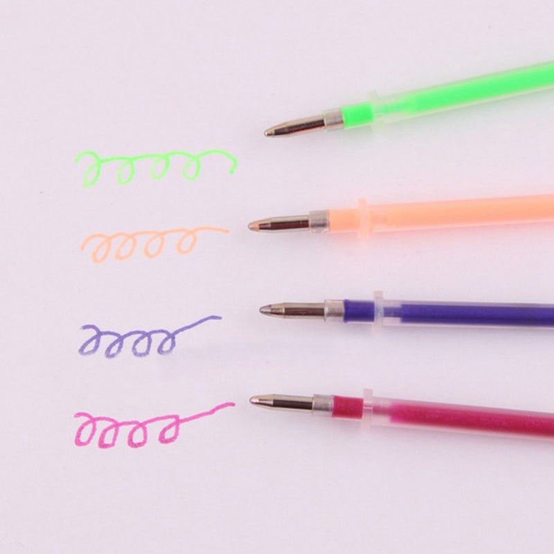 Colorful Gel Pen Set (48 Pcs)