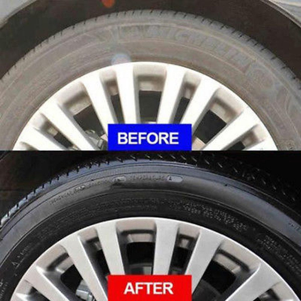 Tire & Rim Restoring Polish Wax