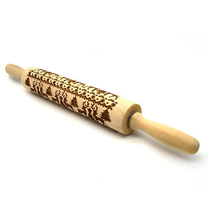 Christmas Decorative Rolling Pin