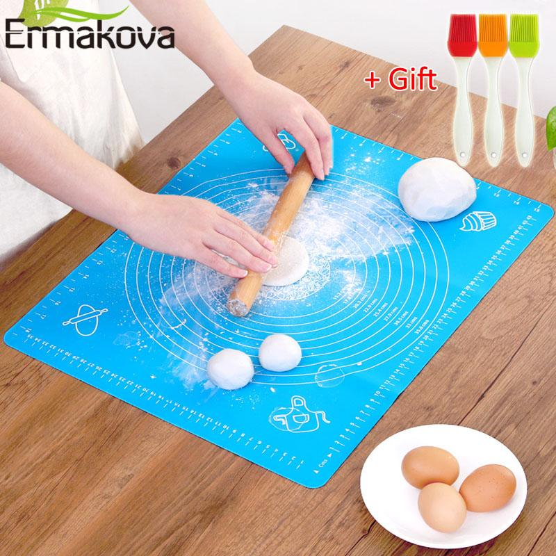 Silicone Baking Mat Pastry Rolling with Measurements