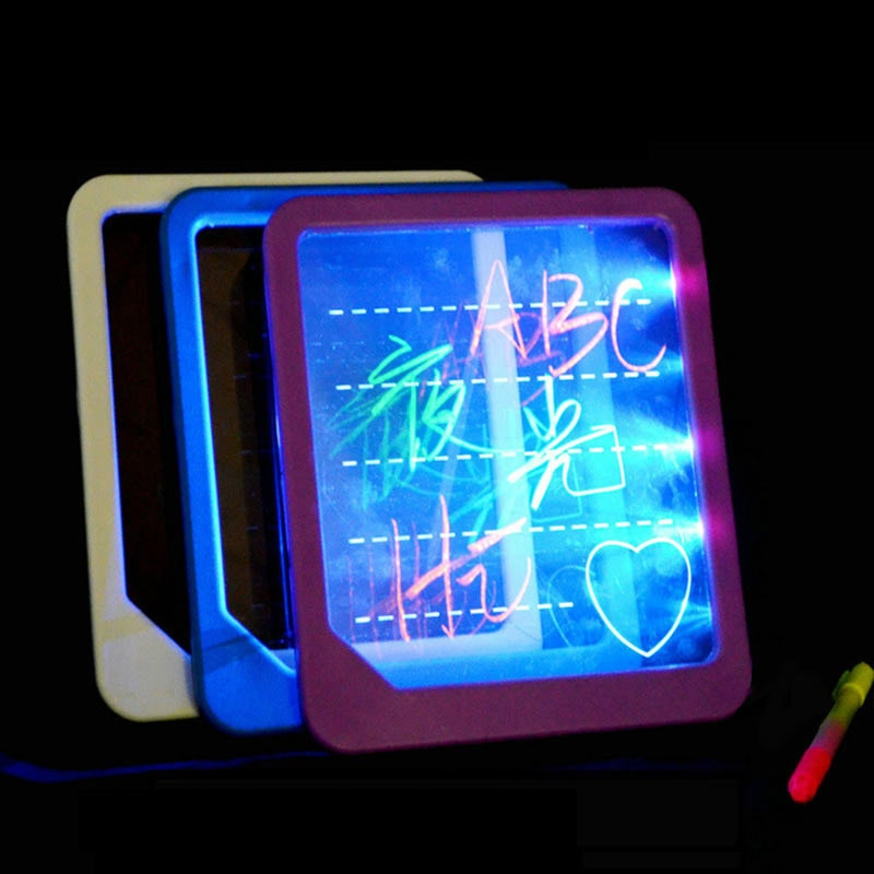 LED Light Fluorescent Writing Board