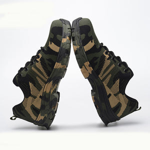 Indestructible Work Boots Reinforced Toe Protection