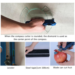 Multipurpose Glass & Tile Cutter