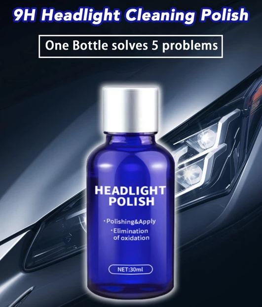 Mighty Headlight Cleaner