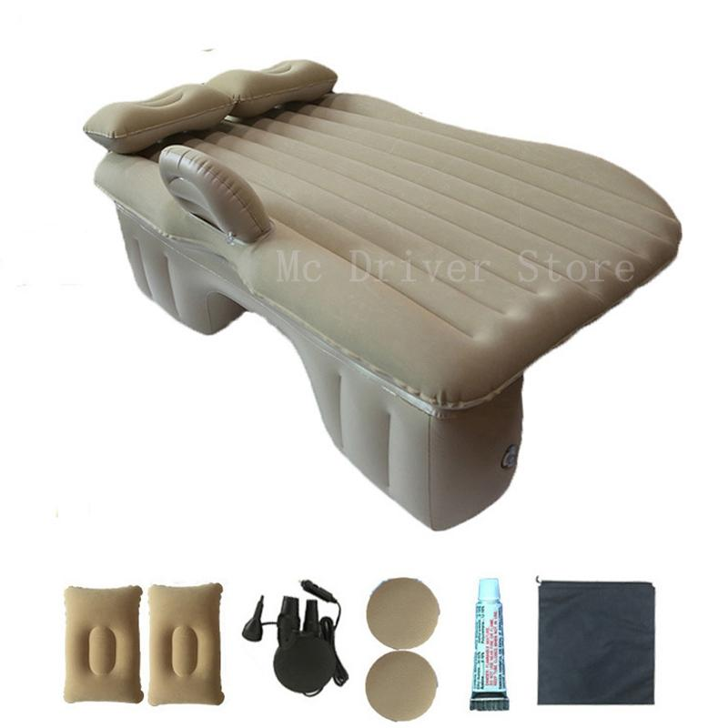Car Travel Inflatable Mattress Air Bed Cushion