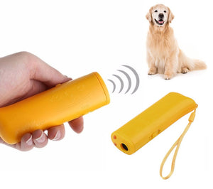 Ultrasonic 3-in-1 Dog Anti-Barking Training Device