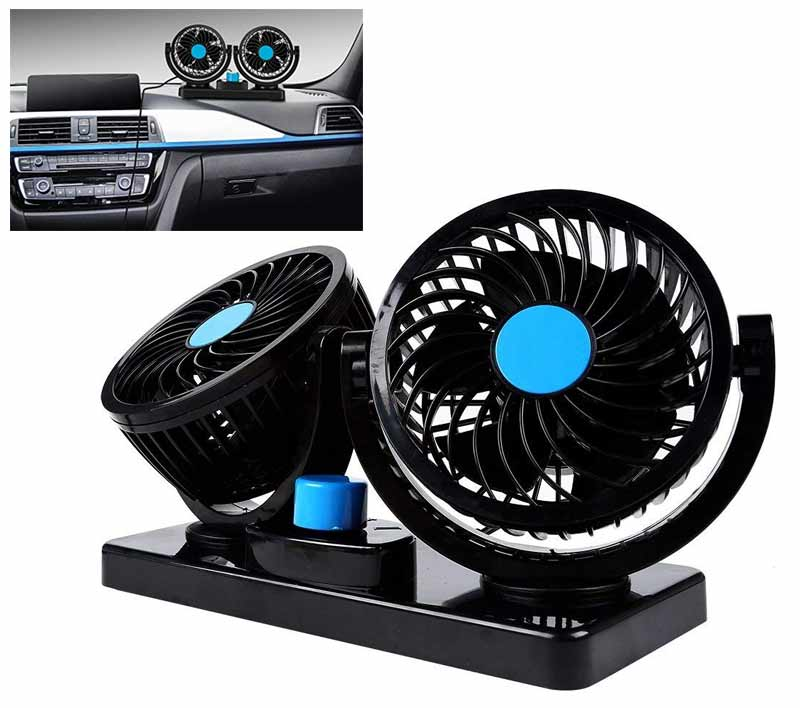 360° Rotating Dual Fan System