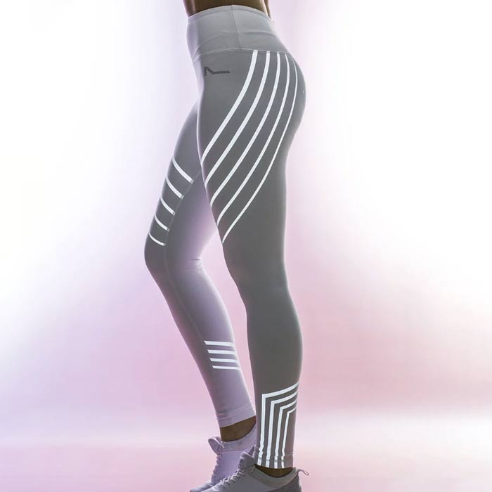 Glowie™ Athletic Reflective Yoga Leggings