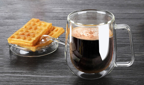 Heat-Resistant Double Glass Coffee Cup