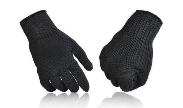 Anti-Cutting, Anti-Slip Mesh Protection Gloves