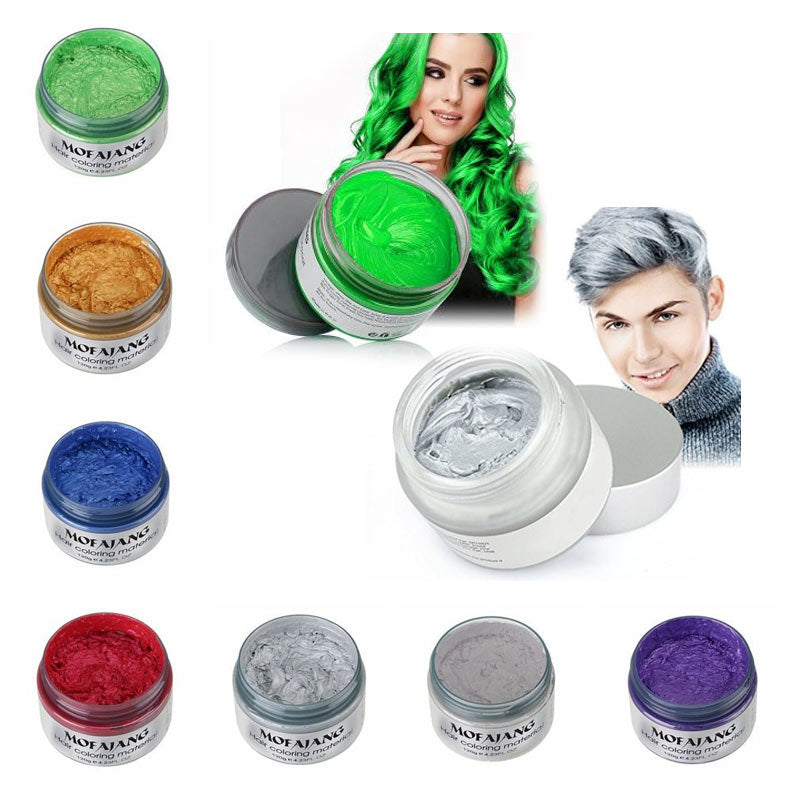 Hair Wax Instant Color Dye