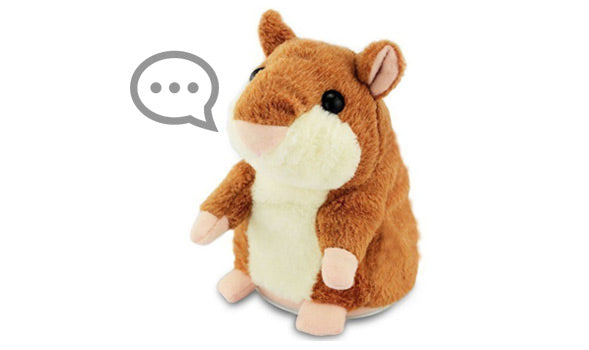 The Talking Hamster™ Plush Toy