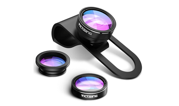 3-in-1 Macro, Wide Angle, Fisheye Camera Lens