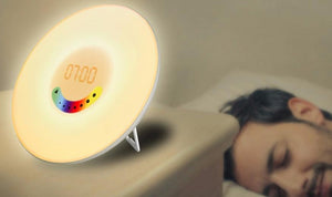 Sunrise Wake Up LED Alarm Clock