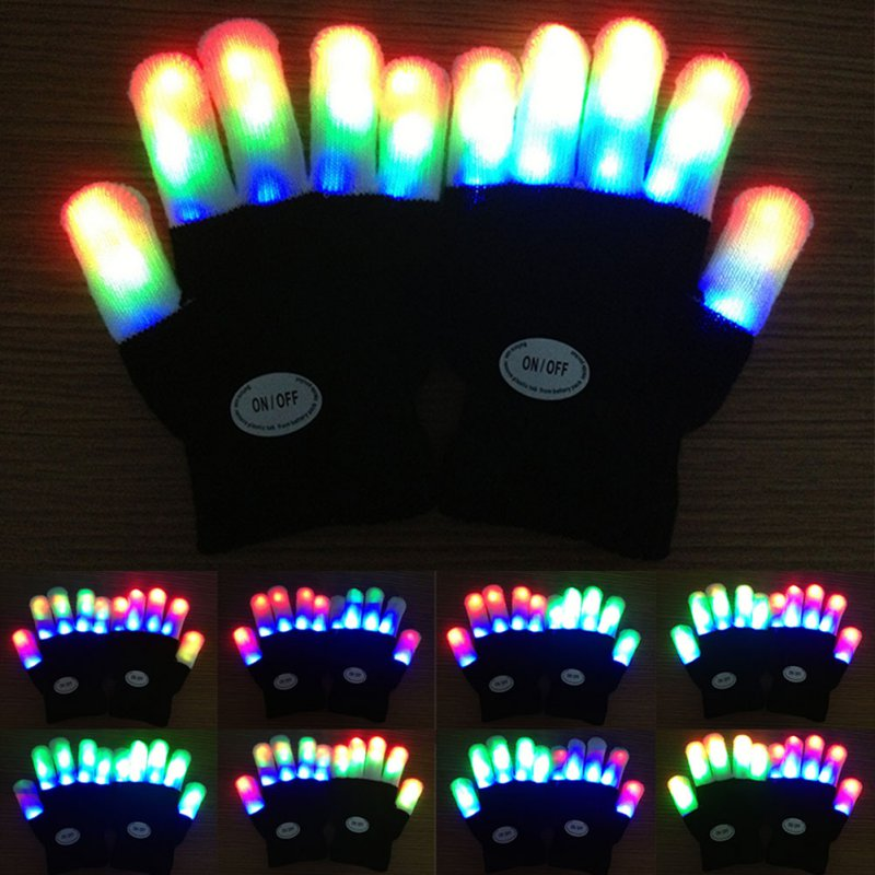 Rainbow Lite™ LED Kids Gloves