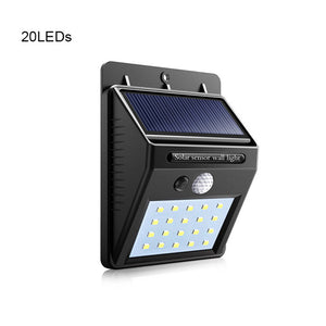 Motion Sensor Solar LED Outdoor Light