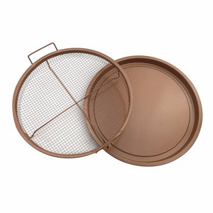 Copper Crispy Oven Fry Pan