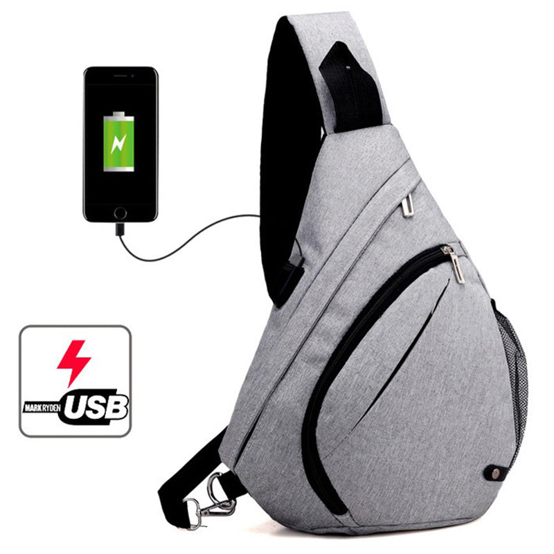 TravelPro™ USB Charging Sling Backpack