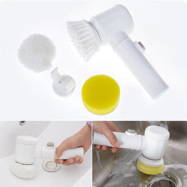 Magic Scrubber 3 In 1 Electric Cleaning Brush Modern Beyond