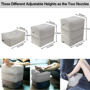 Portable Inflatable Travel Foot Cushion