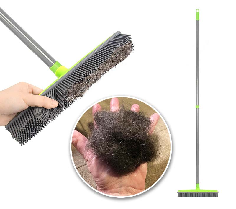 Ultimate Rubber Multipurpose Broom