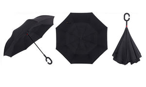 Windproof Double-Layer Inverted Umbrella