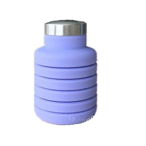Collapsible Water Bottle, Silicone & BPA Free