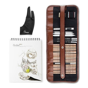 Professional Drawing Charcoal Sketch Art Set