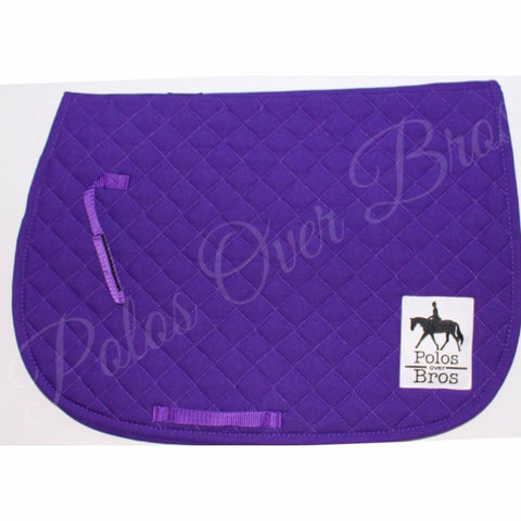 Dark Purple Saddle Pad