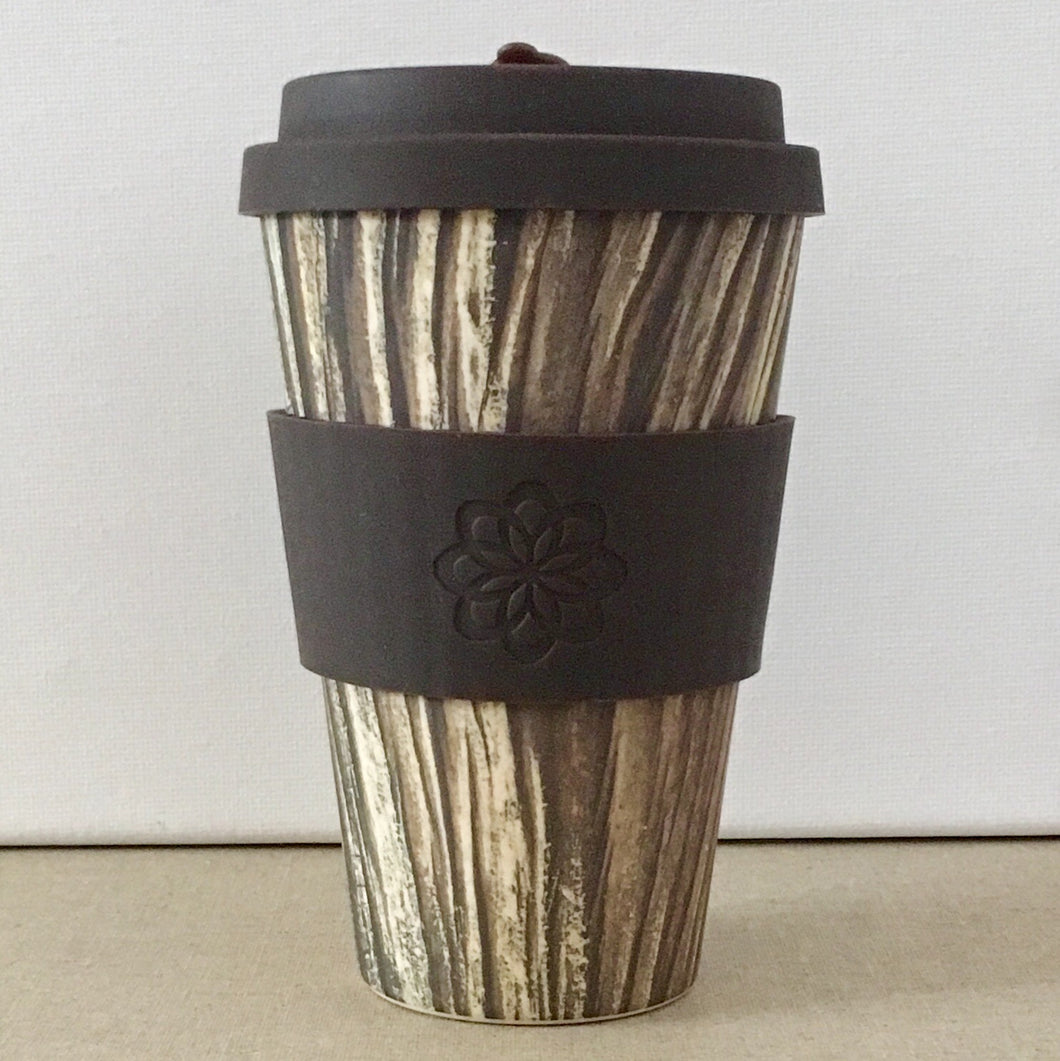 Ecoffee Cup Large S&W Baumrinde