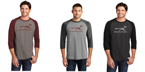 Roseman Roadrunner 3/4-Sleeve Raglan DM136 District ® Perfect Tri ®