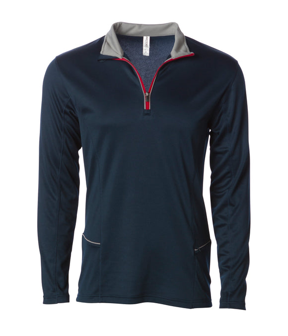 Lightweight Poly-Tech 1/4 Zip Cadet
