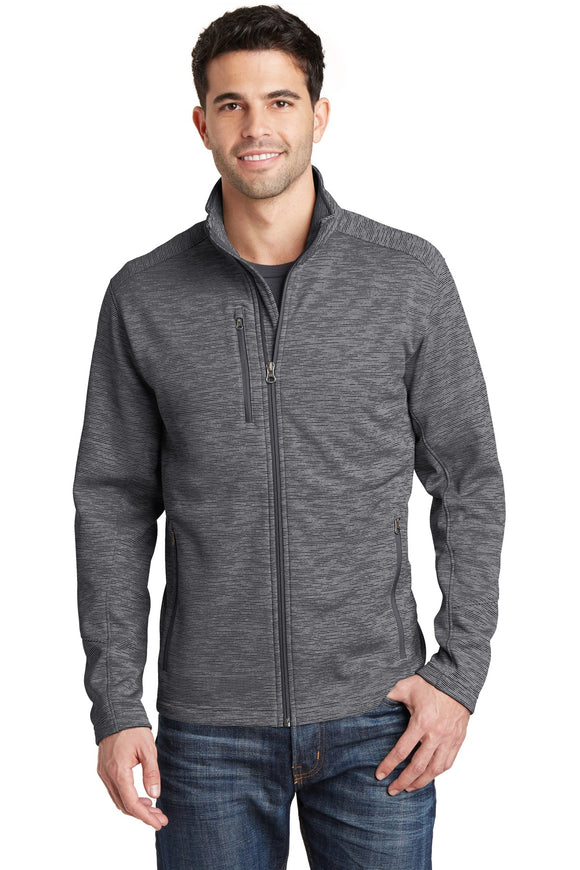 Port Authority® Digi Stripe Fleece Jacket. F231