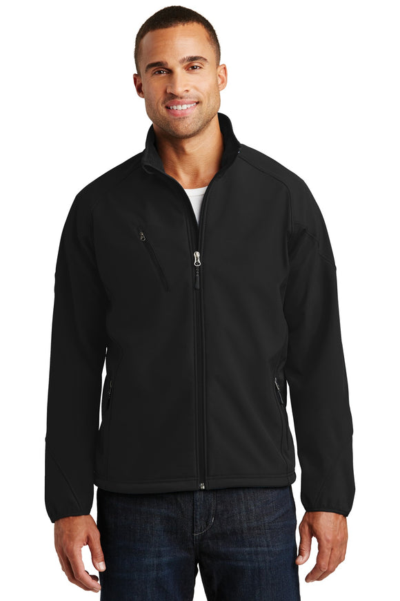 Port Authority® Textured Soft Shell Jacket. J705