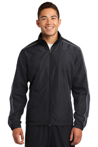 Sport-Tek® Piped Colorblock Wind Jacket. JST61